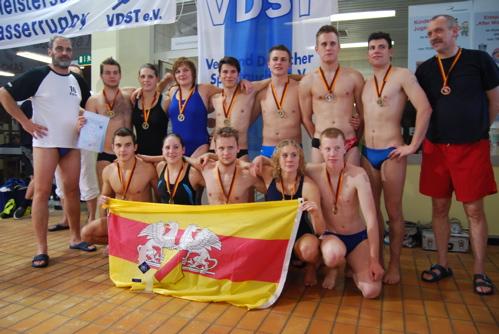 Unterwasserrugby-DJM 2007 Sieger U21 TSV Malsch