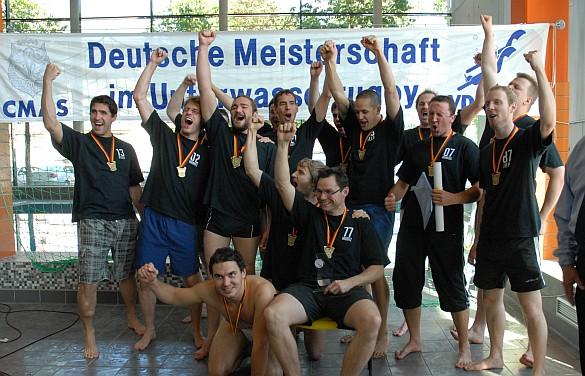 Deutscher Meister im Unterwasserrugby 2011: Tauchclub Bamberg e.V.