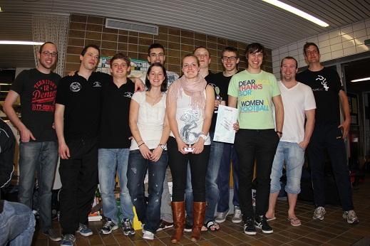 Das Siegerteam aus Pforzheim