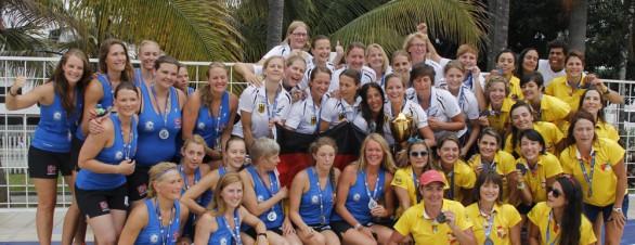 Sieger der Damen: 1. Deutschland, 2. Norwegen, 3. Kolumbien (Foto: Veranstalter)